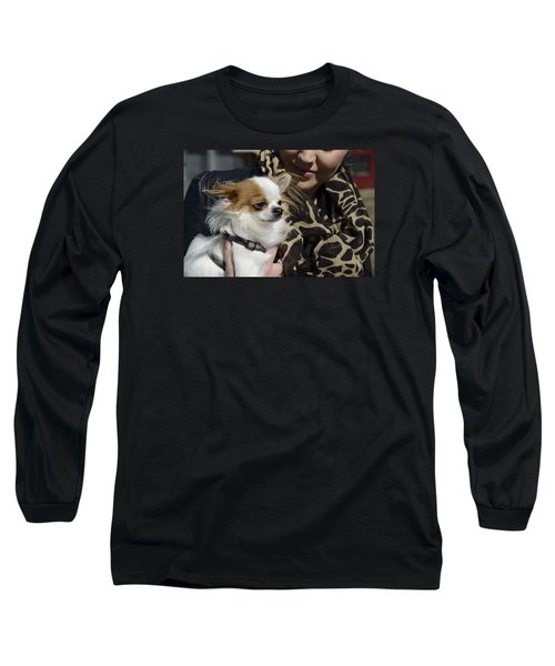 Dog And True Friendship 2 Long Sleeve T-Shirt