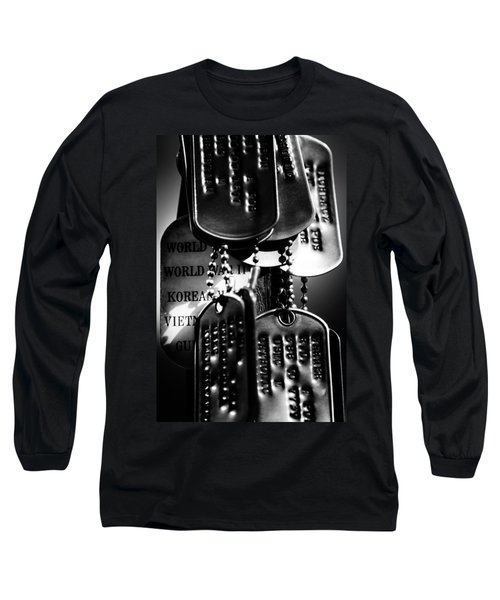 Dog Tags From War Long Sleeve T-Shirt