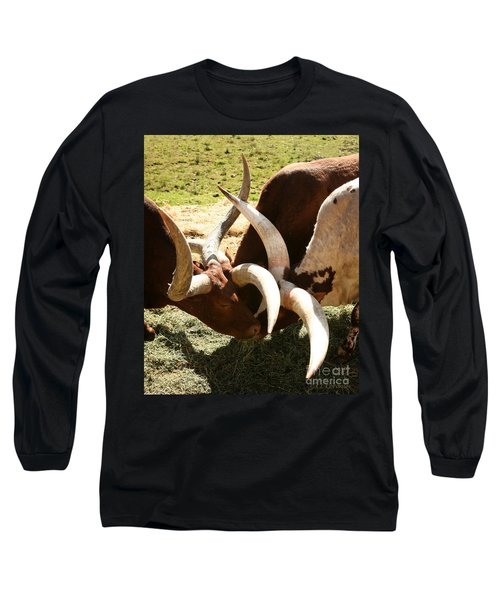Doing The Watusi Long Sleeve T-Shirt by Carol Lynn Coronios