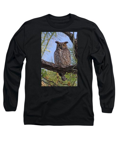 Long Sleeve T-Shirt featuring the photograph Don't Mess With My Chicks #2 by Paul Rebmann