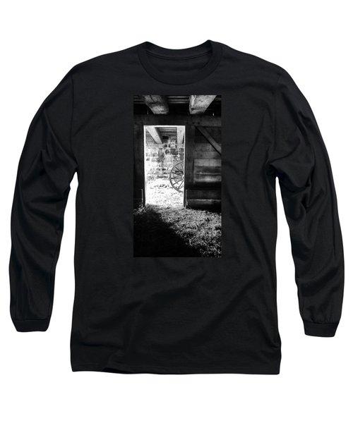 Doorway Through Time Long Sleeve T-Shirt by Daniel Thompson