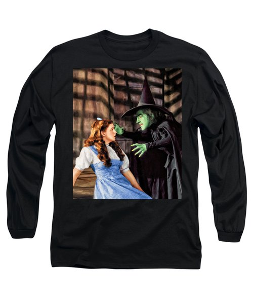 Dorothy And The Wicked Witch Long Sleeve T-Shirt