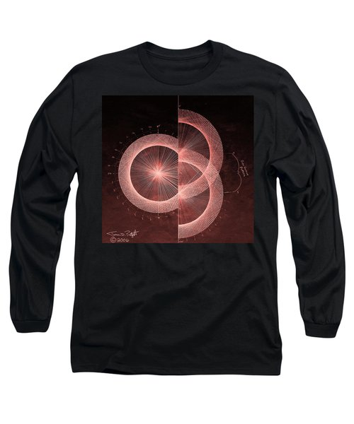 Double Slit Test  Long Sleeve T-Shirt