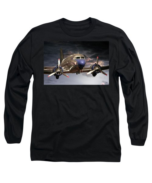 Douglas Dc 3 Long Sleeve T-Shirt by John Haldane