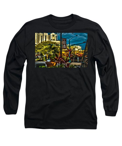 Down On Main Street Long Sleeve T-Shirt