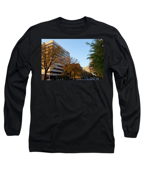 Downtown Chattanooga Long Sleeve T-Shirt by Melinda Fawver