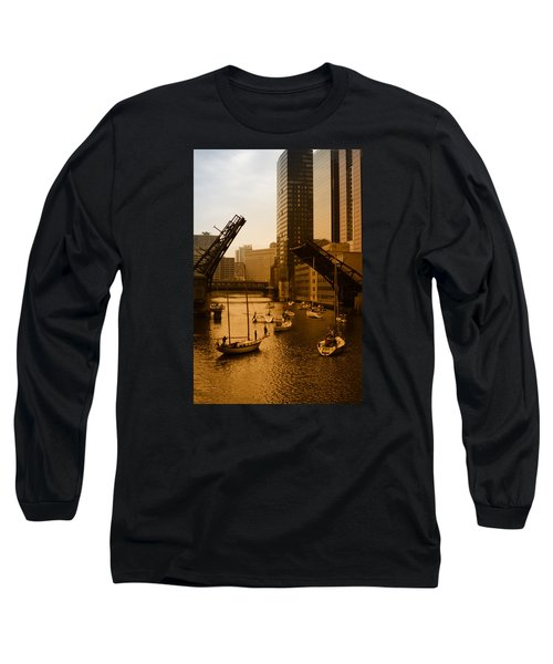 Downtown Chicago Long Sleeve T-Shirt
