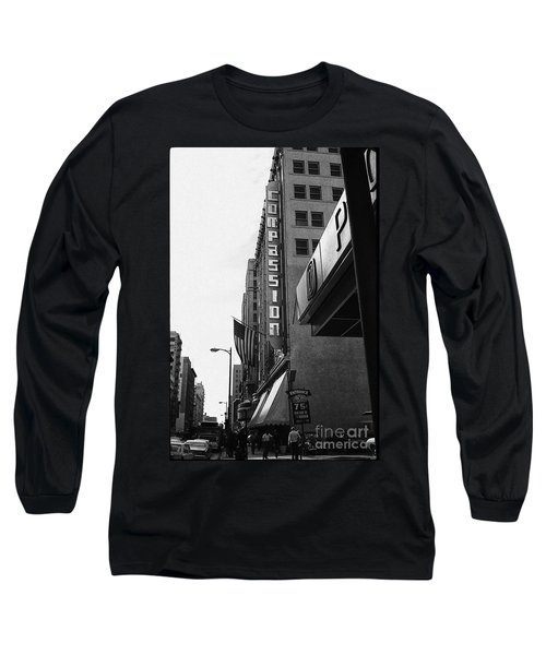 Long Sleeve T-Shirt featuring the photograph Downtown La - Mid '70's by Doc Braham