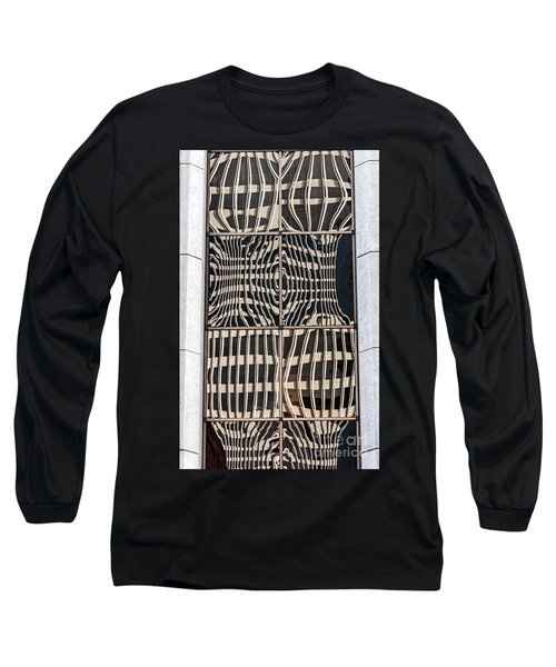 Downtown Reflection Long Sleeve T-Shirt by Kate Brown