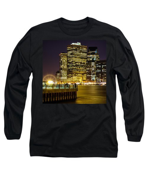 Downtown Lights Long Sleeve T-Shirt