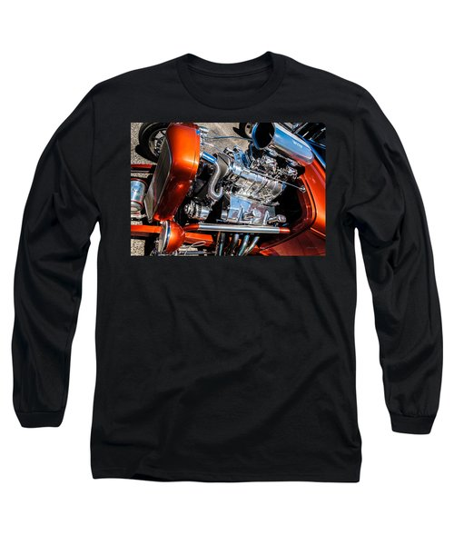 Drag Queen - Hot Rod Blown Chrome  Long Sleeve T-Shirt by Steven Milner