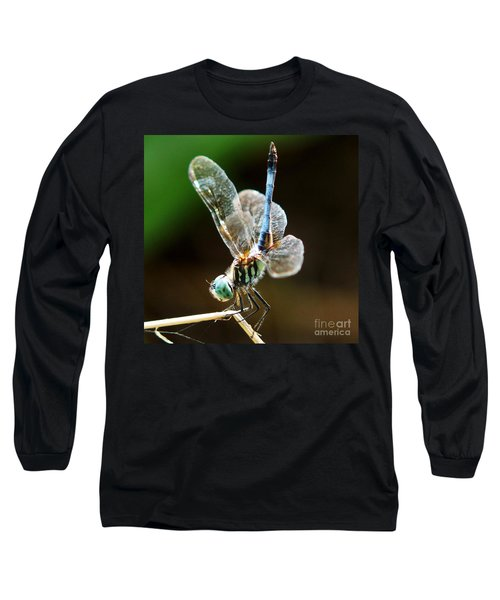 Dragonfly Headstand Long Sleeve T-Shirt