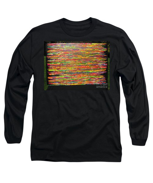 Long Sleeve T-Shirt featuring the painting Drama by Jacqueline Athmann