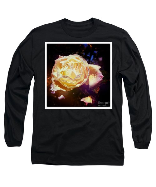 Dramatic Rose Long Sleeve T-Shirt
