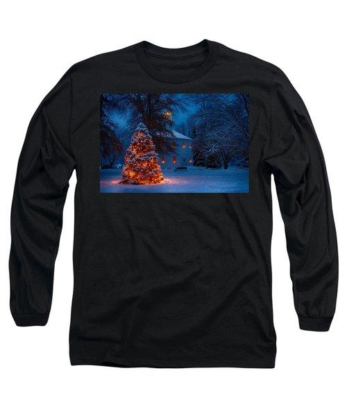 Christmas At The Richmond Round Church Long Sleeve T-Shirt