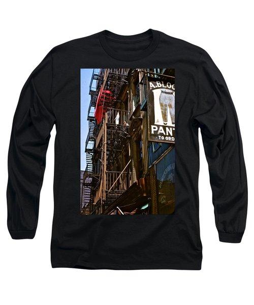 Dreams Ahead Long Sleeve T-Shirt by Ira Shander