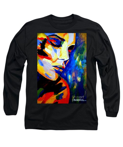 Dreams And Desires Long Sleeve T-Shirt by Helena Wierzbicki