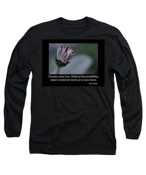 Dreams Long Sleeve T-Shirt by Don Schwartz