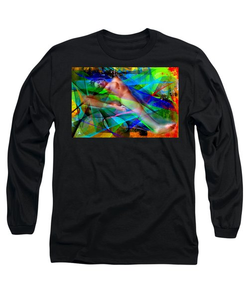 Long Sleeve T-Shirt featuring the digital art Dreams In Color by Rafael Salazar