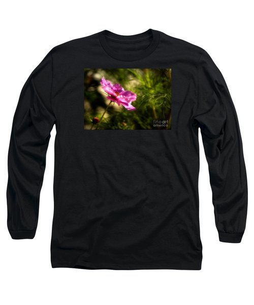Dreamy Pink Comos Long Sleeve T-Shirt by Marjorie Imbeau