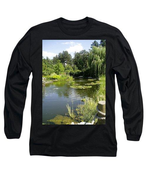 Dreamy Pond Long Sleeve T-Shirt