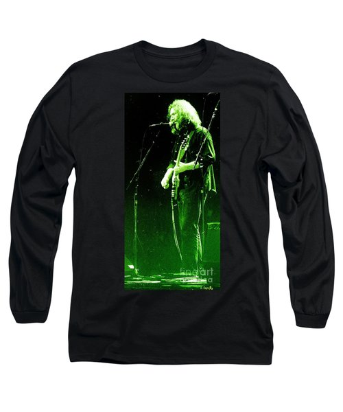 Long Sleeve T-Shirt featuring the photograph Dressed Myself In Green  by Susan Carella