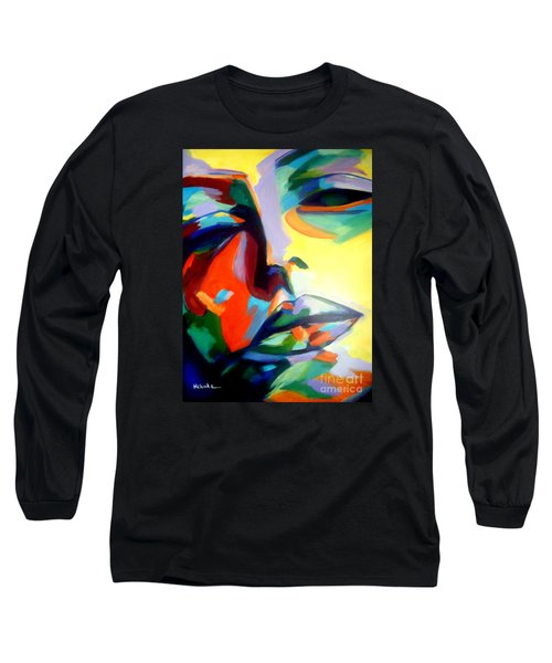 Drifting Into A Dream Long Sleeve T-Shirt by Helena Wierzbicki