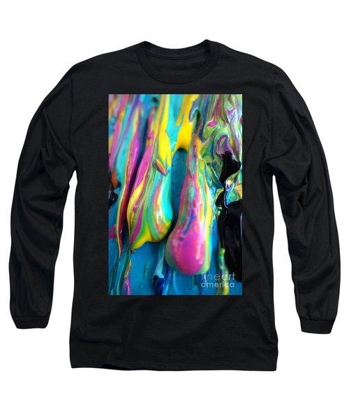 Dripping Paint #3 Long Sleeve T-Shirt