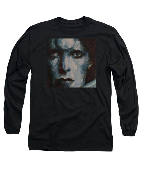 Drive In Saturday Long Sleeve T-Shirt by Paul Lovering