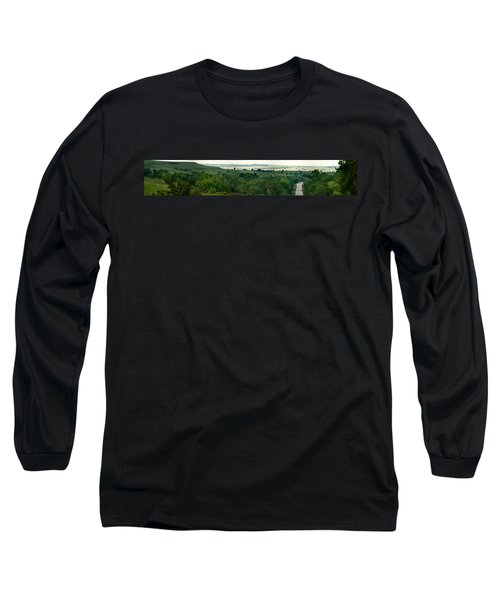 Drive The Flint Hills Long Sleeve T-Shirt