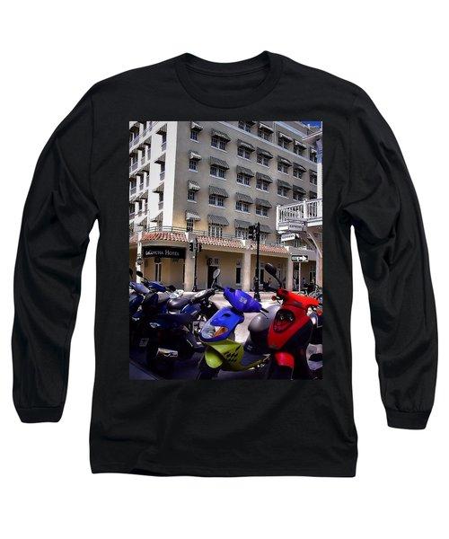 Drivin Duval Long Sleeve T-Shirt by Robert McCubbin