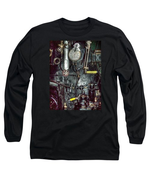 Driving Steam Long Sleeve T-Shirt
