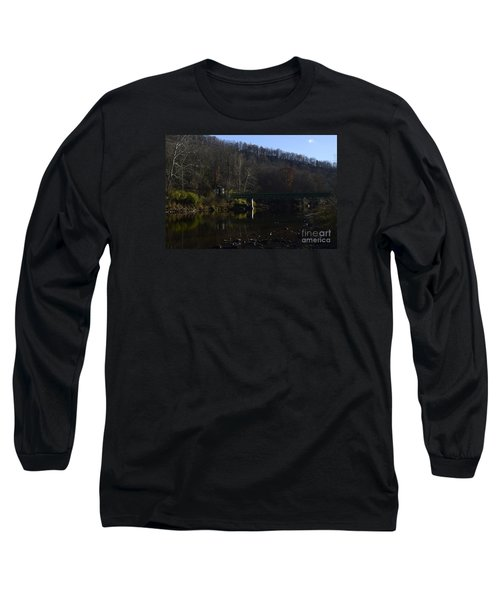 Dry Fork At Jenningston Long Sleeve T-Shirt by Randy Bodkins
