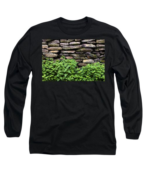 Dry Stone Wall  Long Sleeve T-Shirt