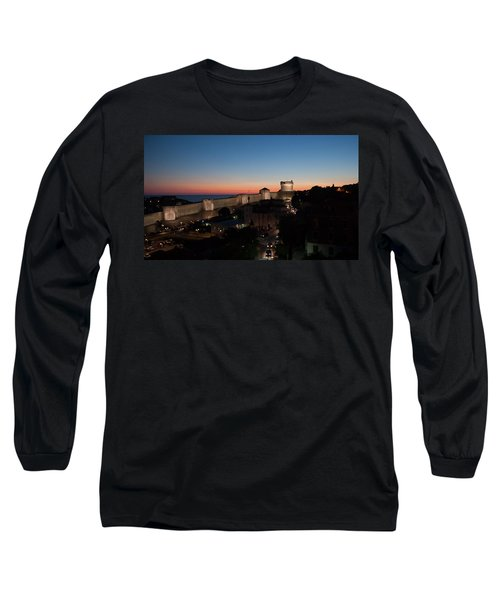 Long Sleeve T-Shirt featuring the photograph Dubrovnik by Silvia Bruno