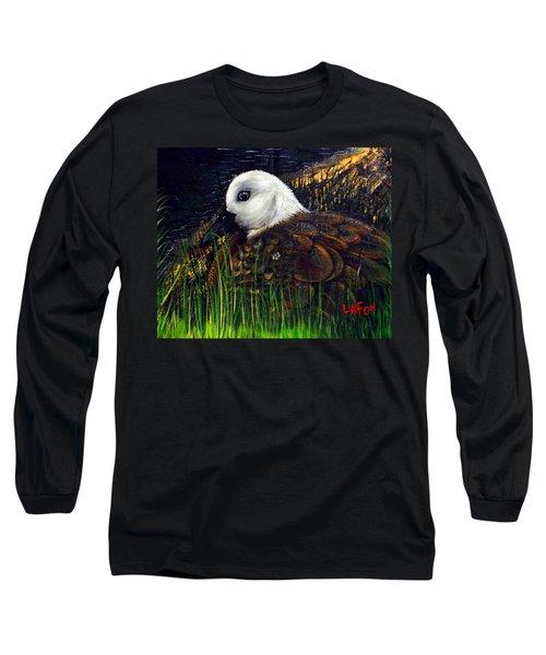 Duck At Dusk Long Sleeve T-Shirt