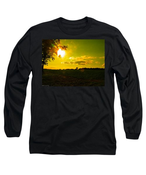 Duck Flying Low Cloud 2 Long Sleeve T-Shirt by Nick Kirby