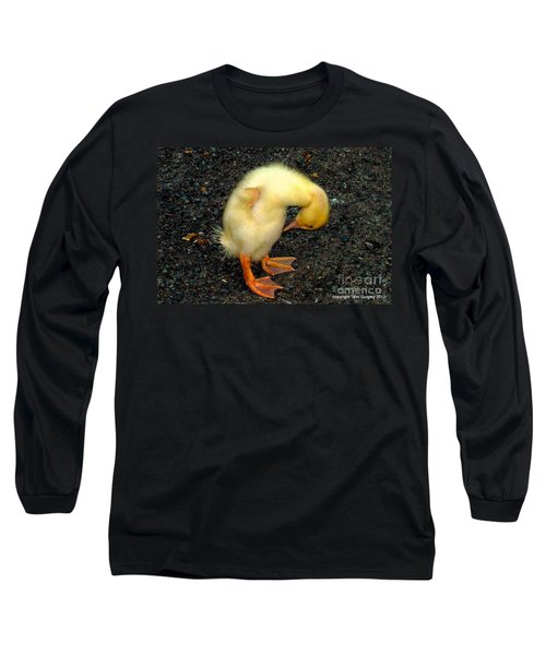 Duckling Takes A Bow Long Sleeve T-Shirt
