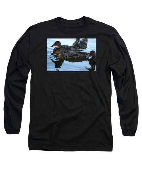 Ducks Reflecting Long Sleeve T-Shirt