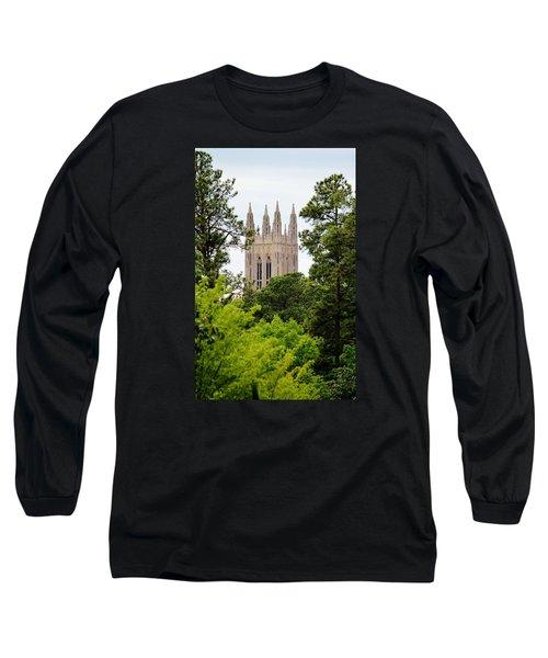 Duke Chapel Long Sleeve T-Shirt by Cynthia Guinn