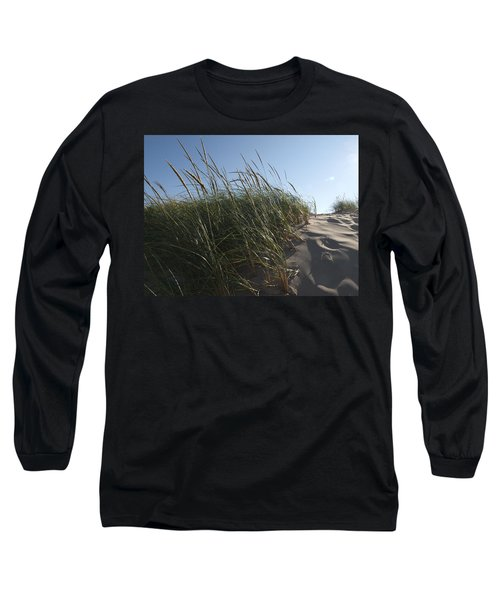 Dune Grass Long Sleeve T-Shirt by Tara Lynn