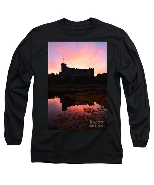 Dunvegan Castle At Dawn Long Sleeve T-Shirt