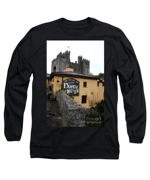 Durty Nellys And Bunraty Castle Long Sleeve T-Shirt by Christiane Schulze Art And Photography