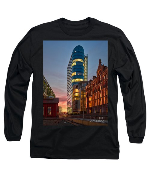 Dusseldorf Media Harbor Long Sleeve T-Shirt