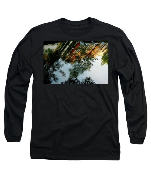 Dutch Canal Reflection Long Sleeve T-Shirt
