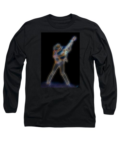 Dwight Noise Long Sleeve T-Shirt by Kenneth Armand Johnson