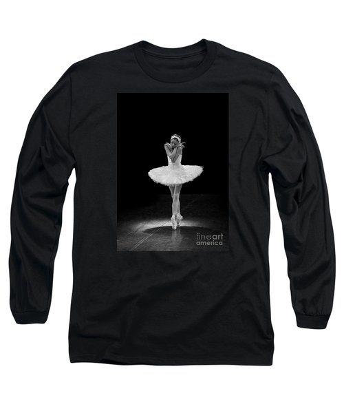 Dying Swan 5. Long Sleeve T-Shirt by Clare Bambers