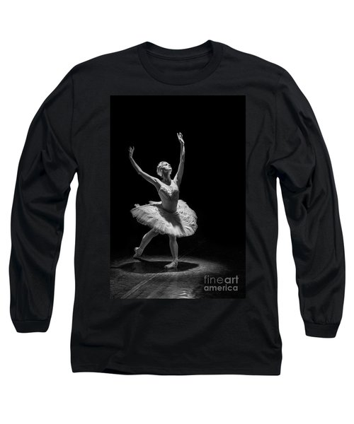 Dying Swan 6. Long Sleeve T-Shirt by Clare Bambers