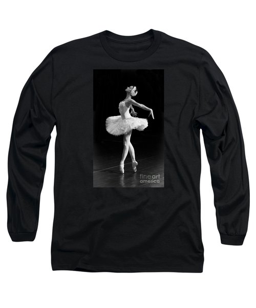 Dying Swan I. Long Sleeve T-Shirt by Clare Bambers
