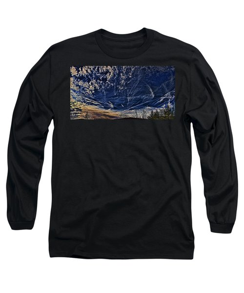 Dynamic Skyscape Long Sleeve T-Shirt by Tom Culver